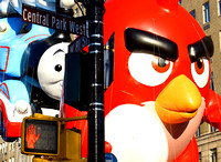 Angry Bird at Macy's Thanksgiving Parade