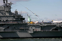 Intrepid Returns to Pier 86