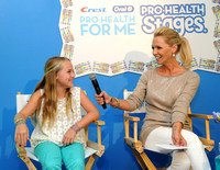 Jennie Garth and her daughter Lola at Crest/Oral-B Back to School Event