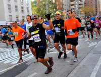Apolo Ohno Runs New York City Marathon