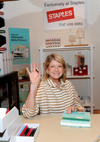 Martha Stewart at Staples BlogHer Booth