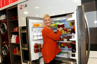 Sandra Lee Hosts LG Electronics' Blogger Cook-Off