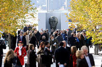 FDR Four Freedoms Park Dedication Ceremony