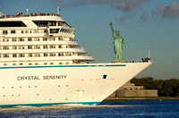 Crystal Serenity Arrives in New York after Historic Northwest Passage Voyage